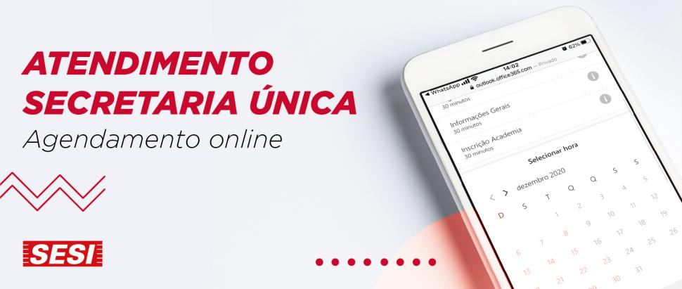 Agendamento online no SESI Santana de Parnaíba
