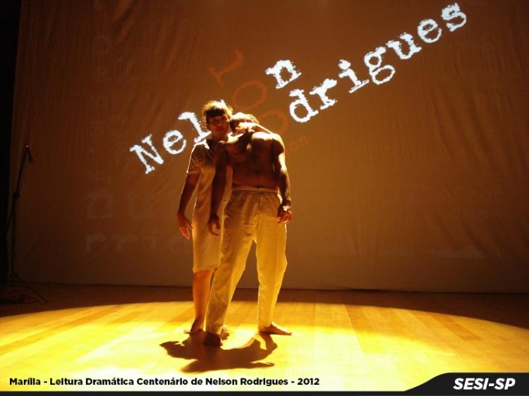 Marilia - leitura dramatica centenario de Nelson Rodrigues - 2012
