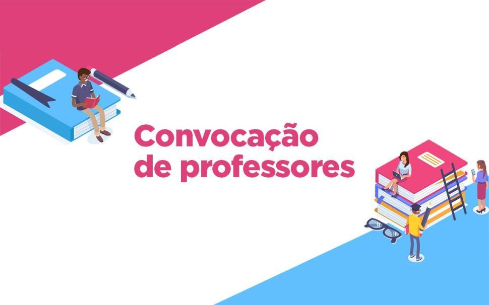 Chamada para seleção e cadastro de pessoa física para a prestação de serviços de produção de conteúdo sob encomenda para o material didático do Ensino Médio