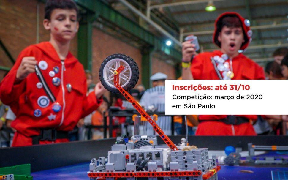 Inscrições para o Torneio Sesi de Robótica 2020 vão até 31 de outubro