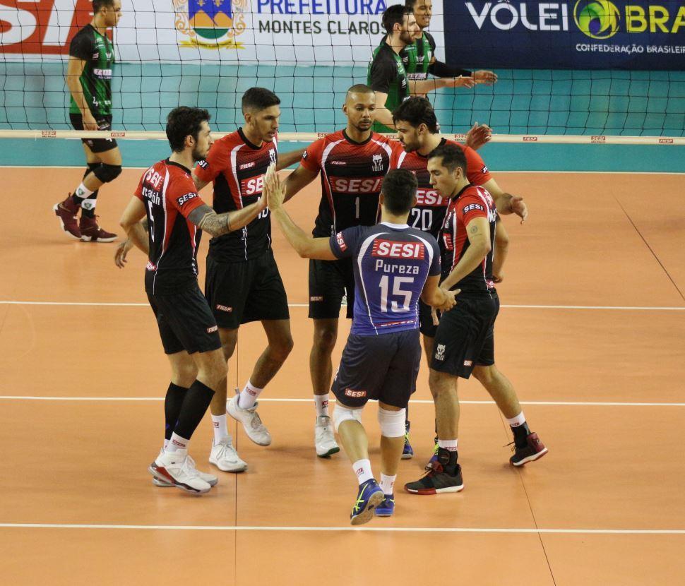 Sesi-SP garante sua segunda vitória na Superliga masculina