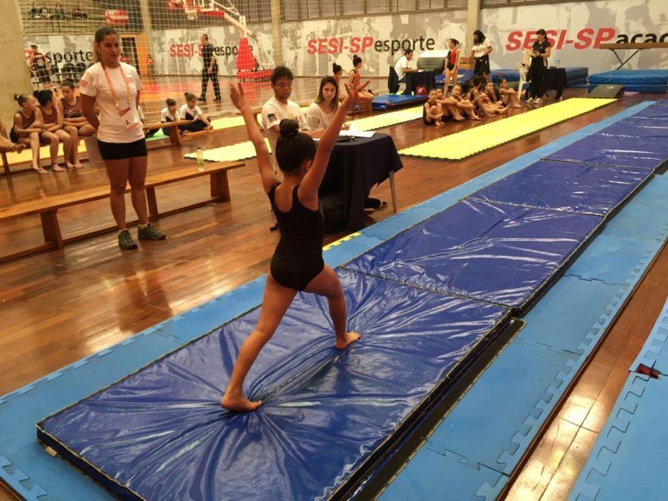 Alunos do Treinamento Esportivo mostram talento e superação em dois dias de competições pela Liga Sesi