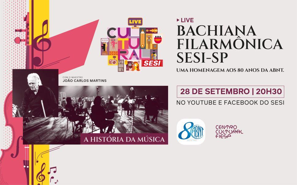 De Bach a Beatles: Sesi-SP e João Carlos Martins fazem live de celebração