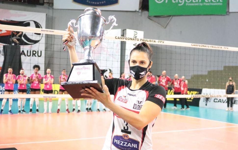 Sesi Vôlei Bauru é vice-campeão Paulista 2020