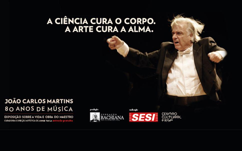 Exposição celebra 80 anos de vida e música do maestro João Carlos Martins