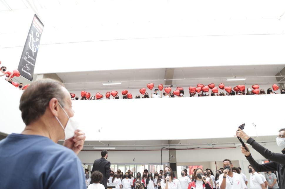 Em Sorocaba, Skaf inaugura escola e assina diversos convênios com municípios da região
