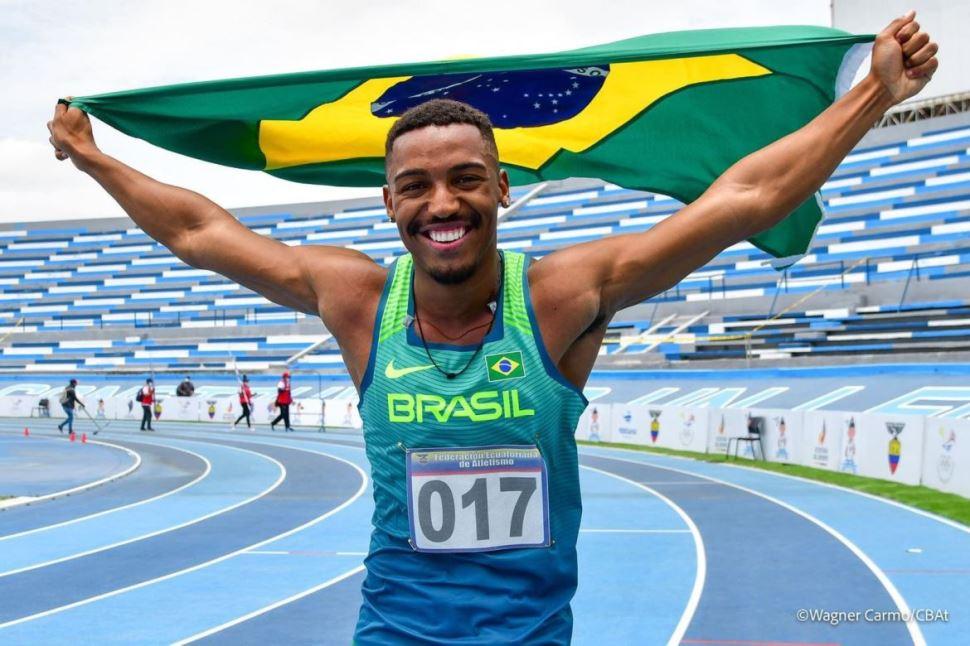 Velocistas do Sesi-SP conquistam medalhas no Sul-Americano Sub-23 de Atletismo