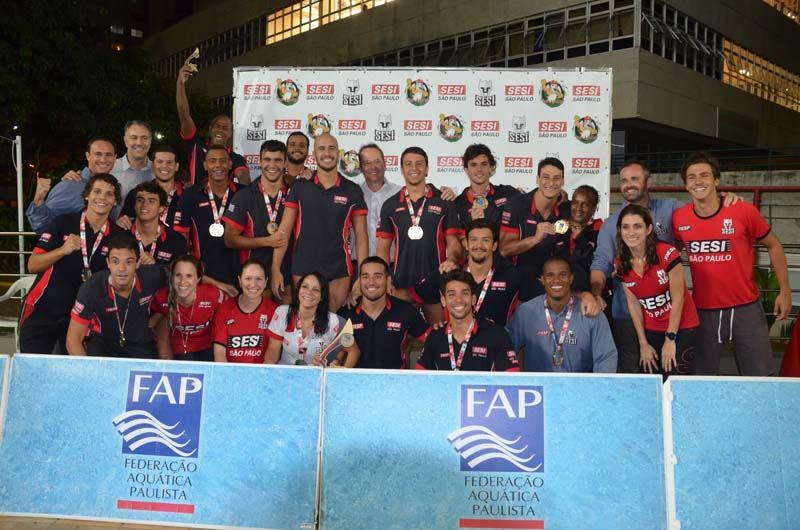 Sesi-SP vence Pinheiros. É o quinto título do Paulista de Polo Aquático