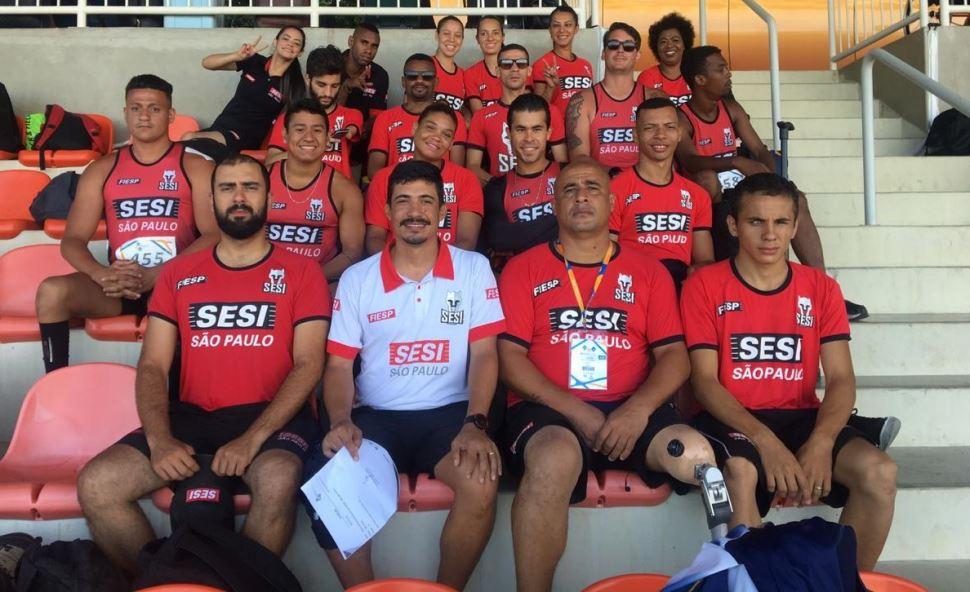 Atletismo paralímpico do SESI-SP conquista 38 medalhas e registra nove recordes pessoais no Circuito Brasileiro