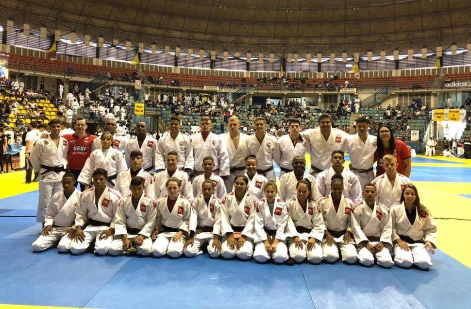 Judocas do SESI-SP ficam em 5º lugar na Copa São Paulo de Judô e conquistam vagas para o Brasileiro Regional