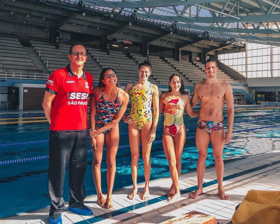 Natação do Sesi-SP retorna de Marselha, na França, com cinco medalhas na bagagem