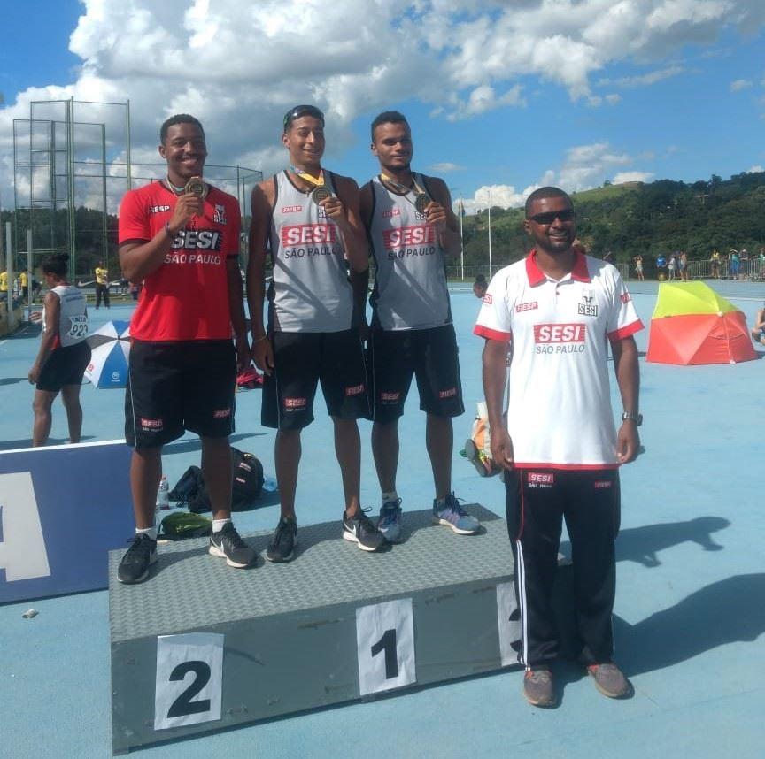 Atletas do Sesi-SP fazem índices para Jogos Pan-americanos e Troféu Brasil