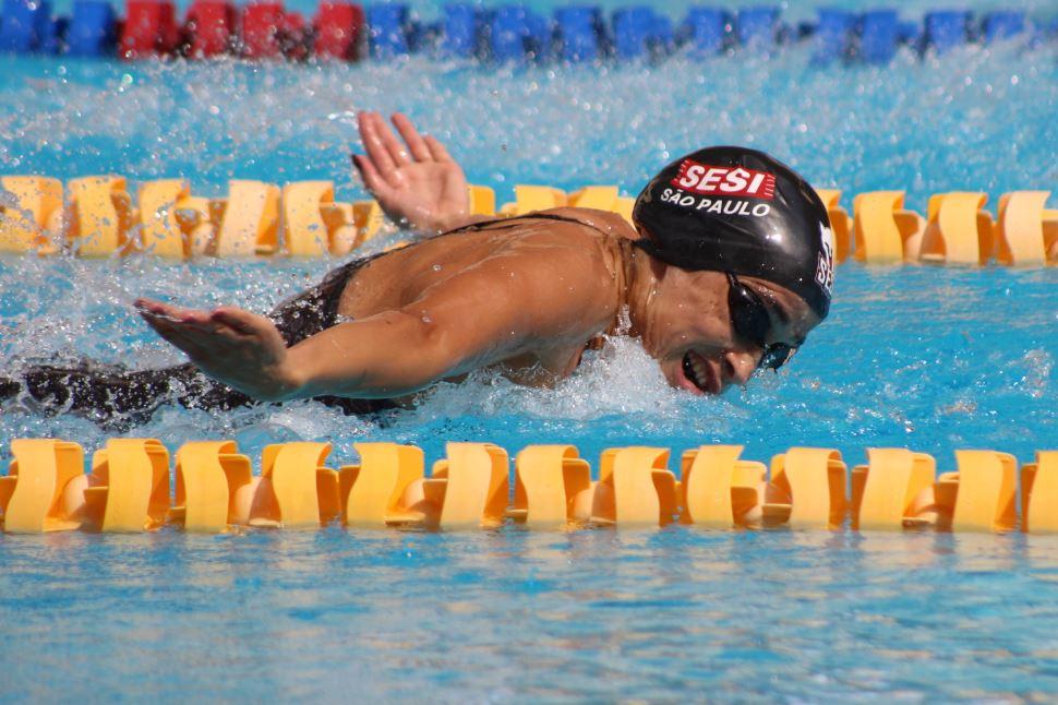 Segundo dia de Maria Lenk rende mais duas medalhas para os nadadores do Sesi-SP