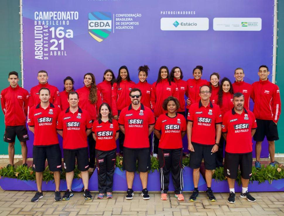 Sesi-SP credencia duas nadadoras para o Mundial de Gwangju e Jogos Pan-Americanos de Lima