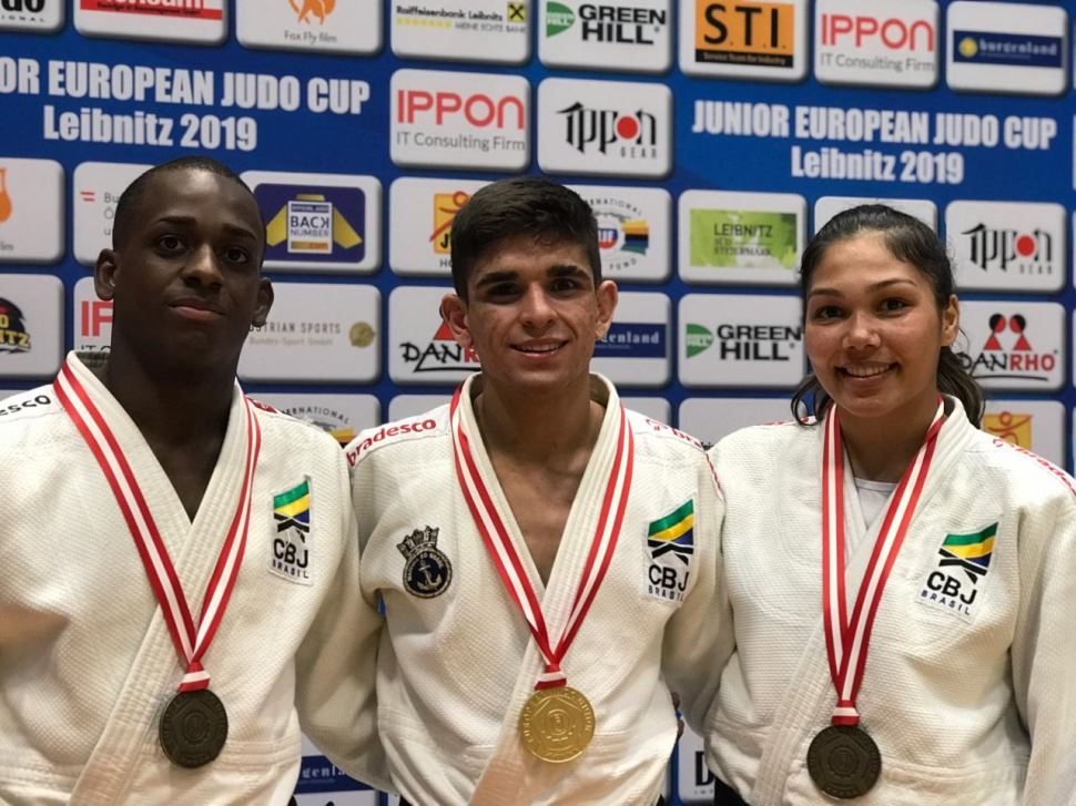 Judocas do Sesi-SP conquistam três medalhas no Circuito Mundial de Judô Sub-21