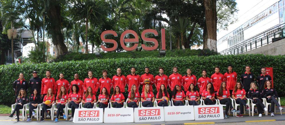 Com pratas da casa, equipes de polo aquático do Sesi-SP estreiam no Brasil Open 2019