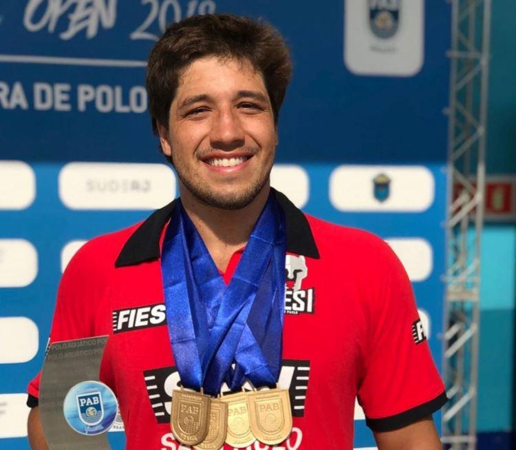Polo aquático campeão do Brasil Open 2019