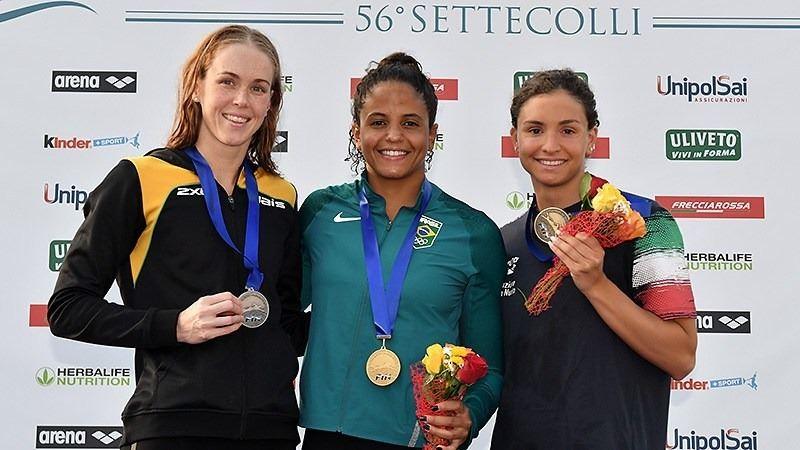 Nadadoras do Sesi-SP garantem medalhas em giro pela Europa