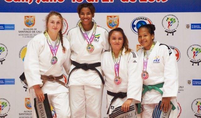 Judocas do Sesi-SP conquistam quatro medalhas em Pan-Americanos sub-18 e sub-21