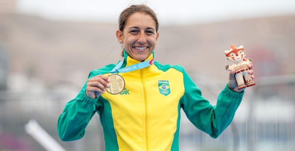 Atletas do Sesi-SP garantem três medalhas no triathlon para o Brasil no Pan-Americano de Lima