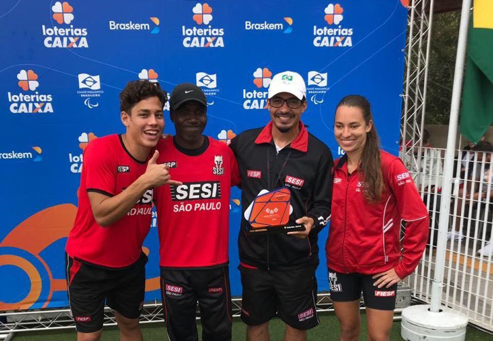 Equipe de Atletismo Paralímpico do Sesi-SP conquista 12 medalhas na 2ª Etapa do Circuito Nacional
