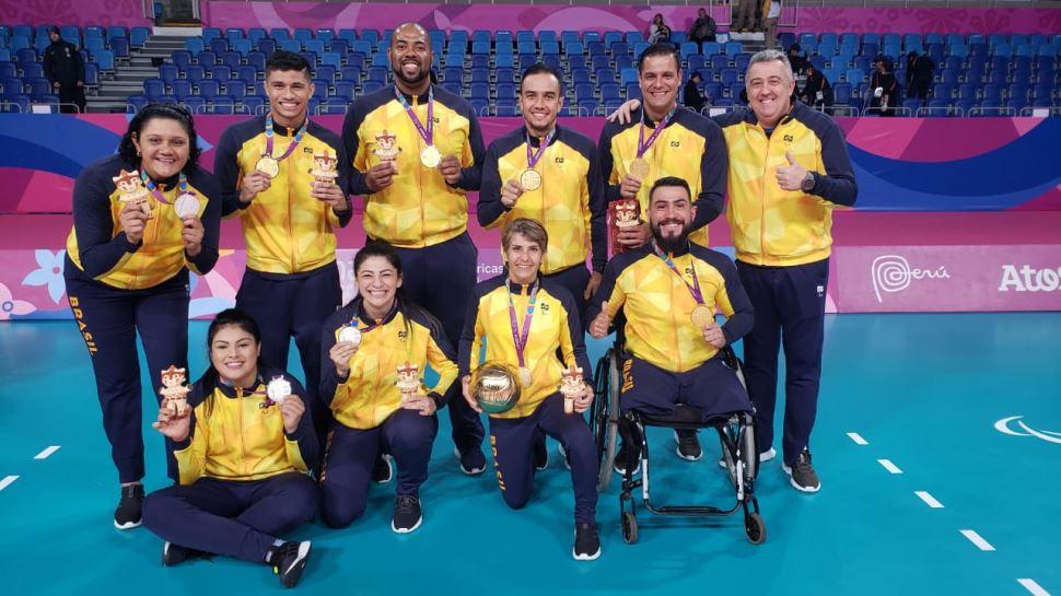 Atletas do Sesi-SP brilham nos Jogos Parapan-americanos de Lima 2019
