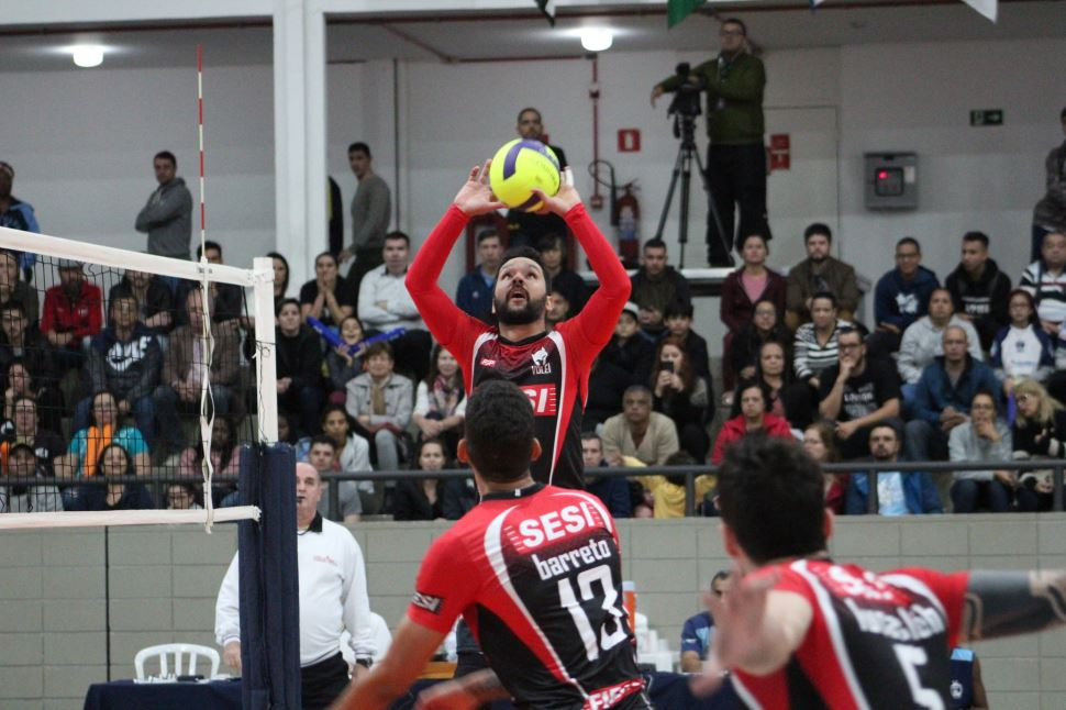 Sesi-SP vence no tie break e garante segunda vitória no Campeonato Paulista