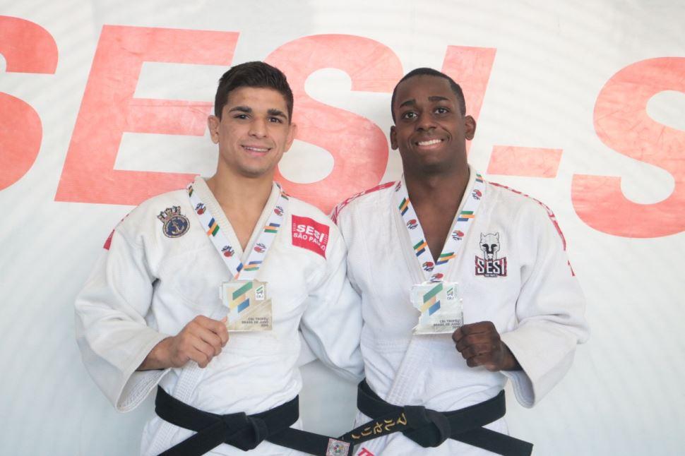 Judocas do Sesi-SP ganham duas pratas no Troféu Brasil