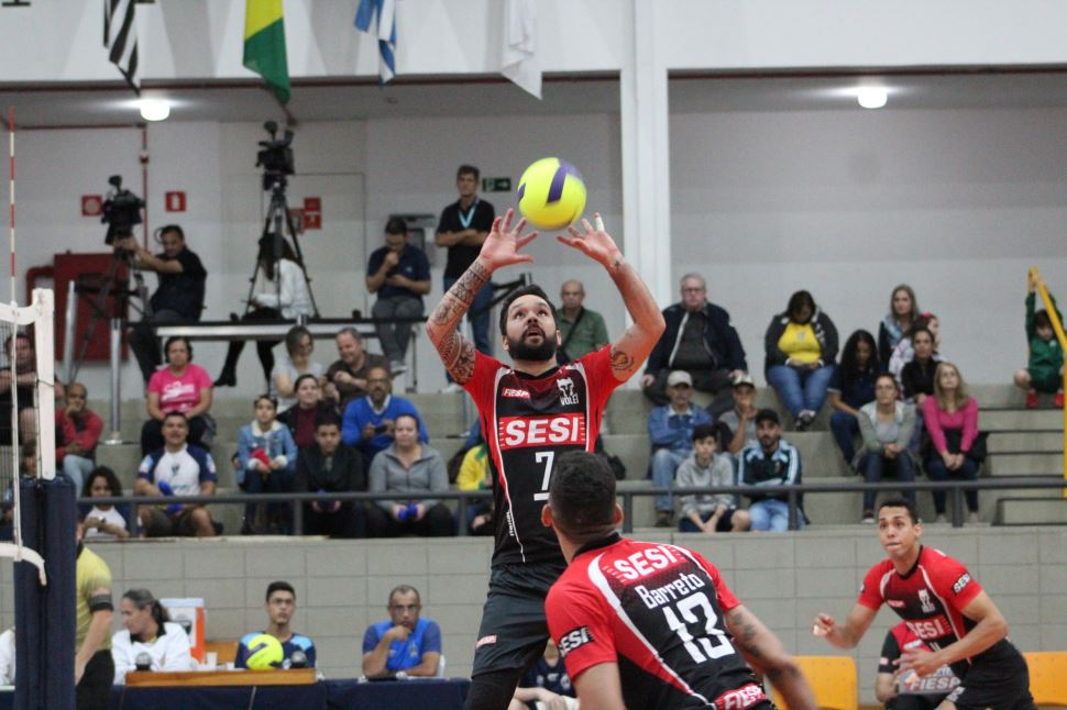 Sesi-SP abre série das quartas de final do Paulista 2019 com vitória