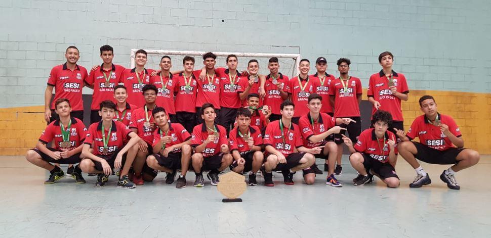 Sesi-SP domina o Campeonato Brasileiro de Base do Hóquei Indoor