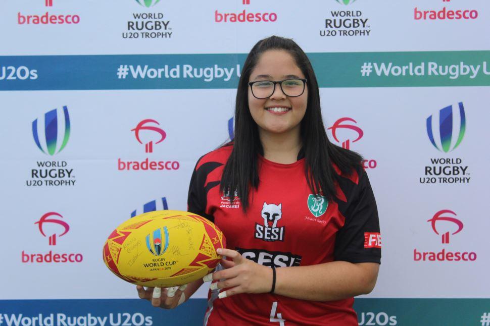 Jogadora do Sesi Jacareí Rugby vence concurso da DHL e vai à Copa do Mundo de Rugby no Japão