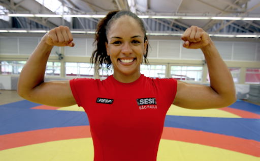Aline Silva garante vaga para Tóquio 2020 na luta olímpica
