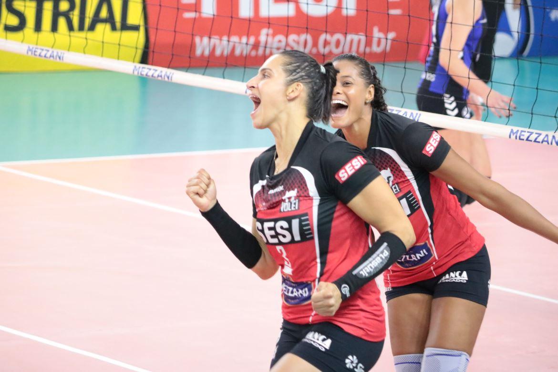 Sesi Vôlei Bauru estreia com vitória no Paulista
