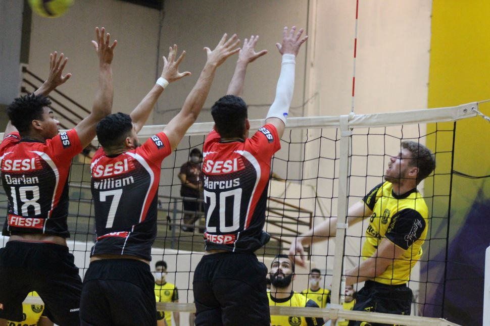 Sesi-SP fica atrás e se despede do Campeonato Paulista 2020