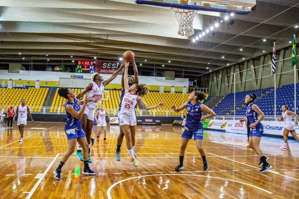 Sesi Araraquara garante terceiro lugar no Campeonato Paulista de Basquete Feminino