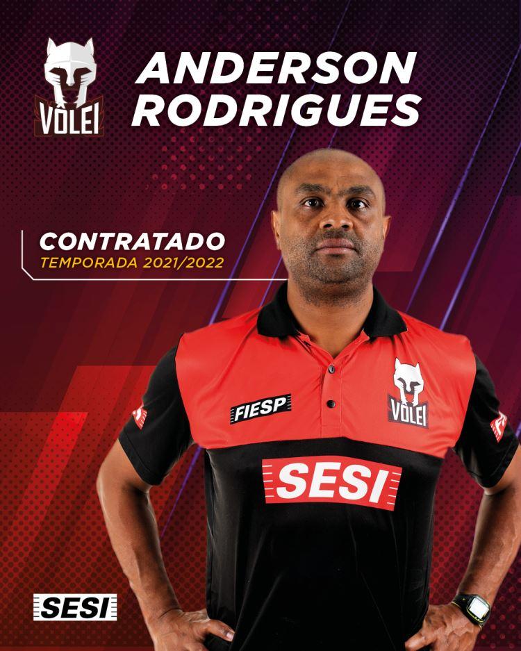 Anderson Rodrigues - vôlei masculino
