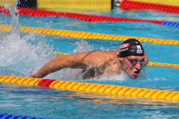 seletiva natação