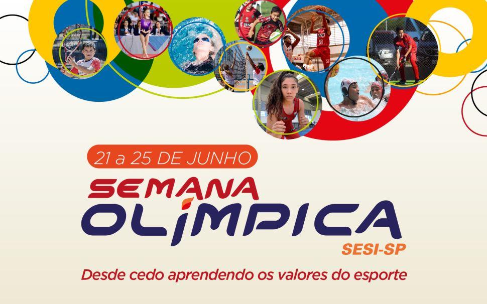 Para promover valores e cultura esportiva entre crianças e adolescentes, Sesi-SP e COB se unem para realização do evento Semana Olímpica