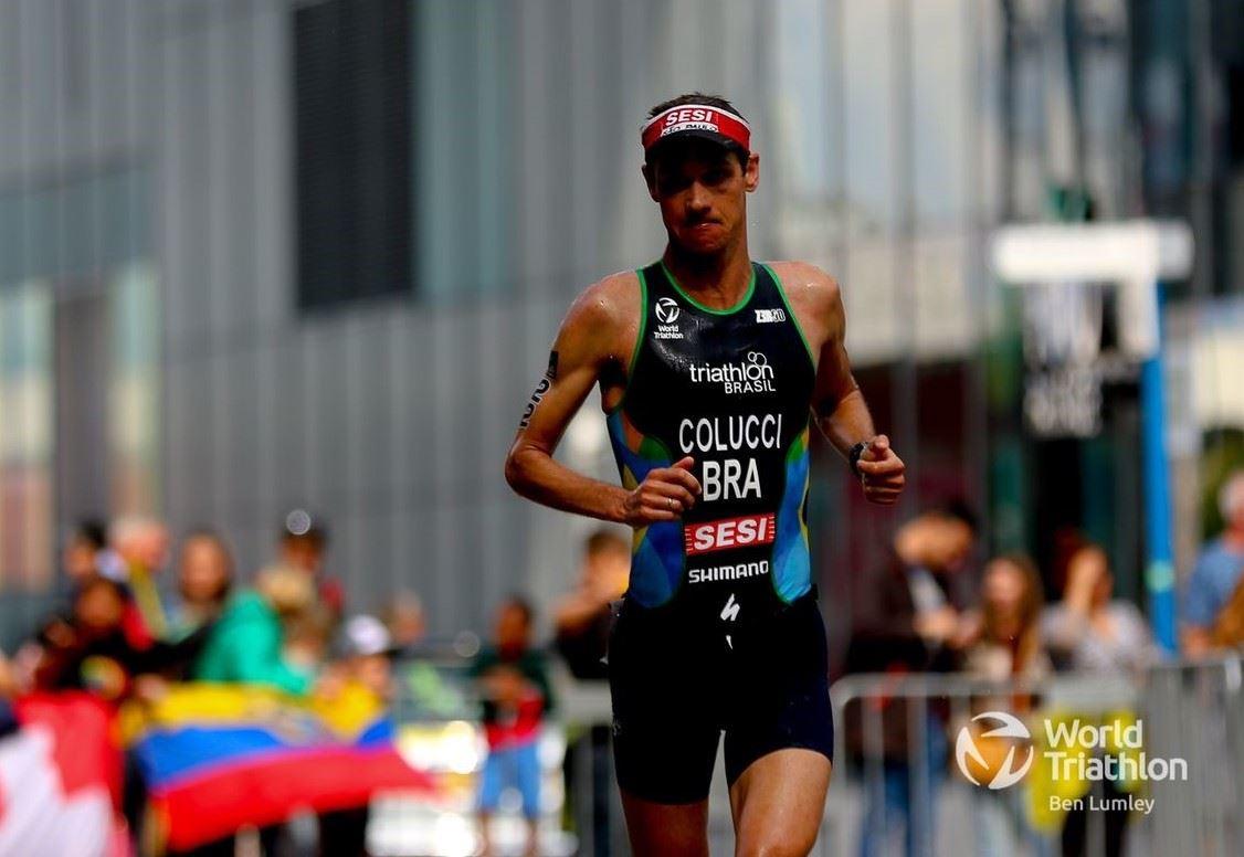 Na Holanda, Colucci é medalha de bronze no Mundial de Longa distancia da World Triathlon 2021