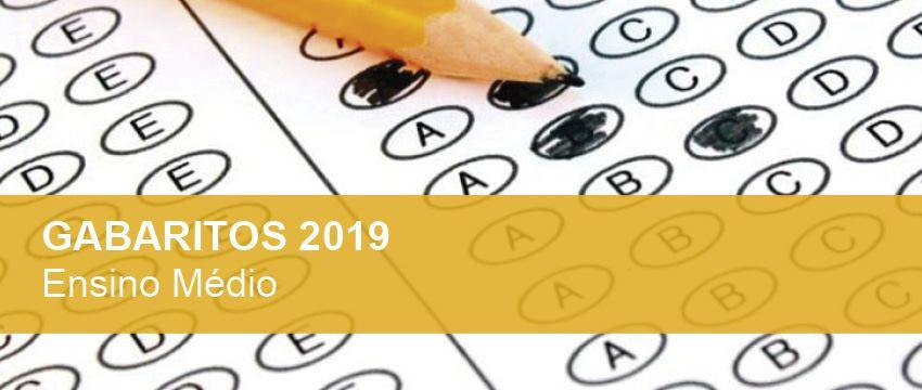 Confira os gabaritos das provas do Ensino Médio para 2019