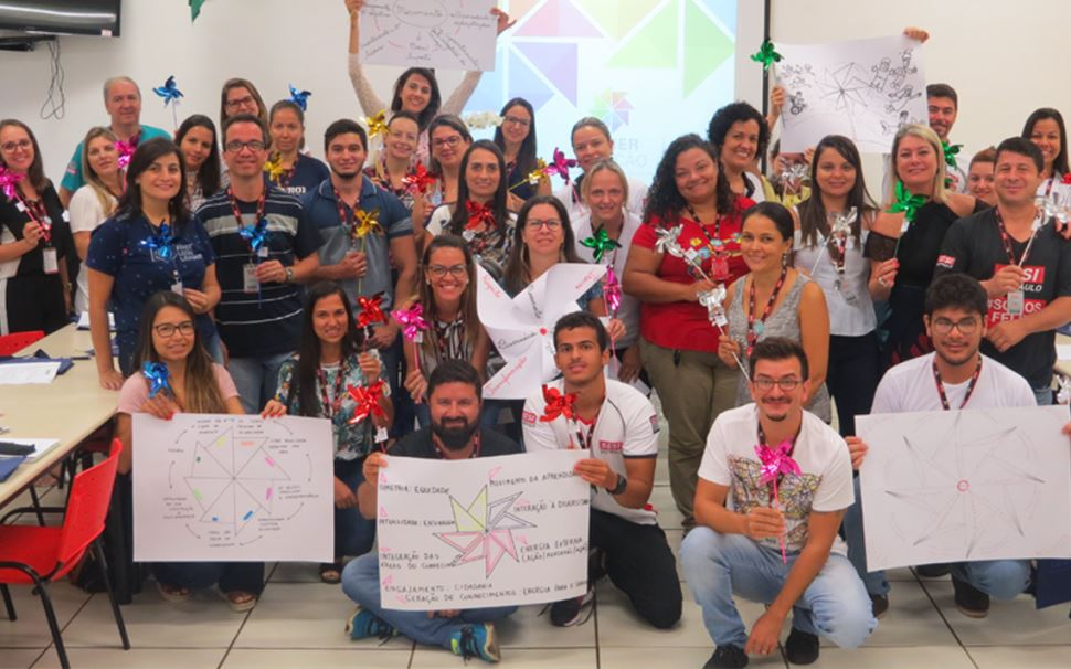 Saber em Ação: Profissionais da rede escolar SESI-SP participam de semana de formação
