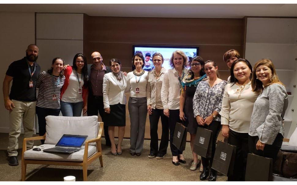 Encontro entre SESI-SP e Fundação Bradesco aprimora experiências em educação a distância