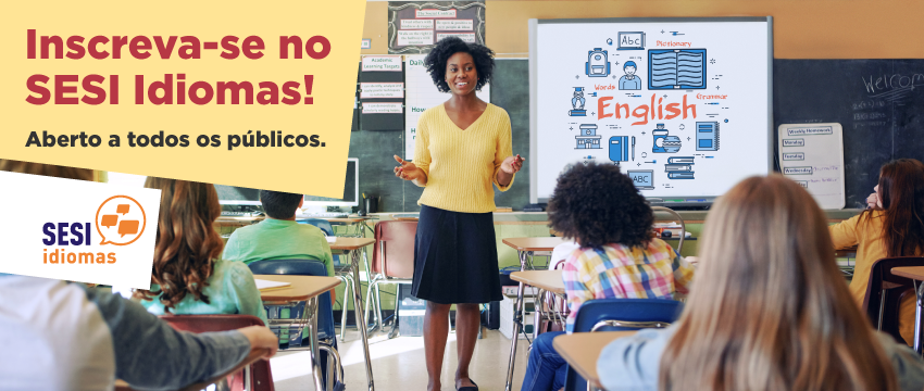 SESI abre inscrições para curso de inglês em Ribeirão Preto