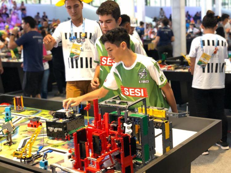 Torneio SESI de Robótica 2020