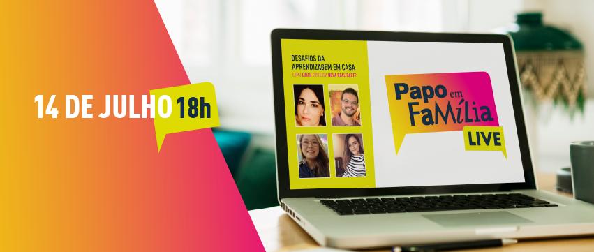 SESI-SP realiza live sobre os desafios da aprendizagem em casa