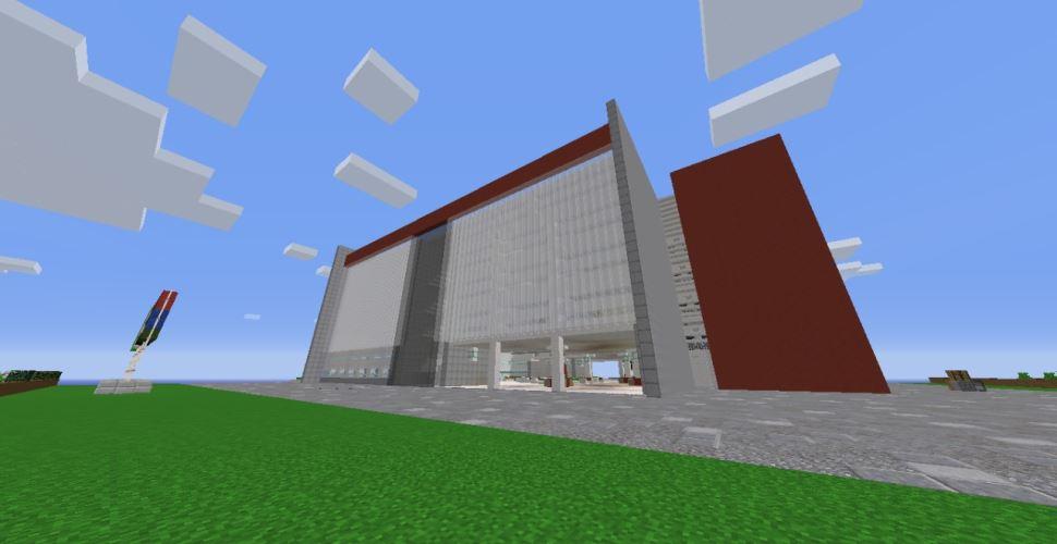 Alunos do SESI-SP usam jogo de computador para reproduzir prédio da escola de Jundiaí