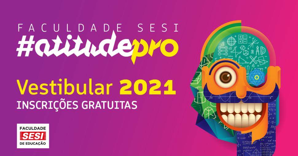 100% gratuita, Faculdade SESI de Educação abre Vestibular 2021