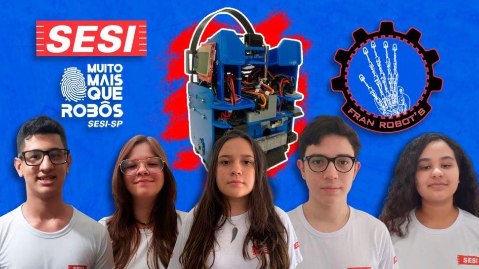 SESI-SP conquista hexacampeonato na Olimpíada Brasileira de Robótica (OBR)