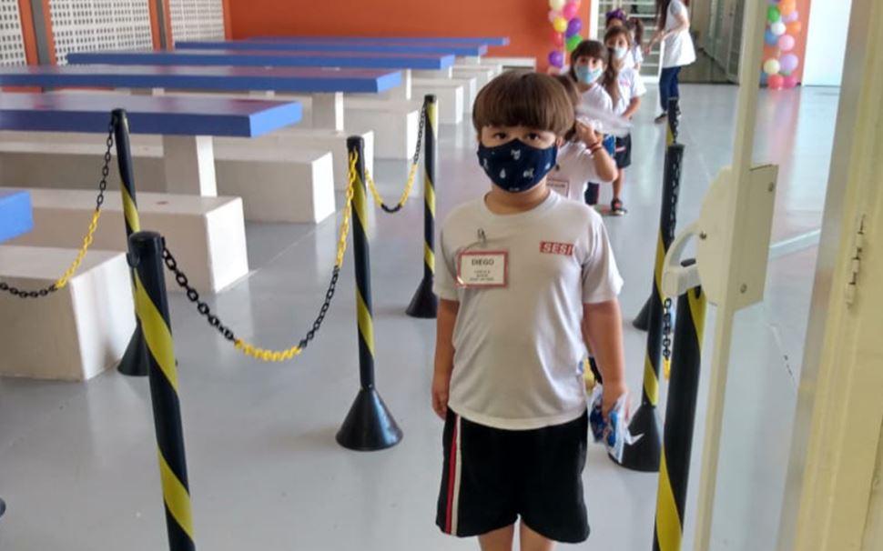 Novas escolas de Educação Infantil do SESI-SP iniciam a primeira etapa da retomada presencial da rede