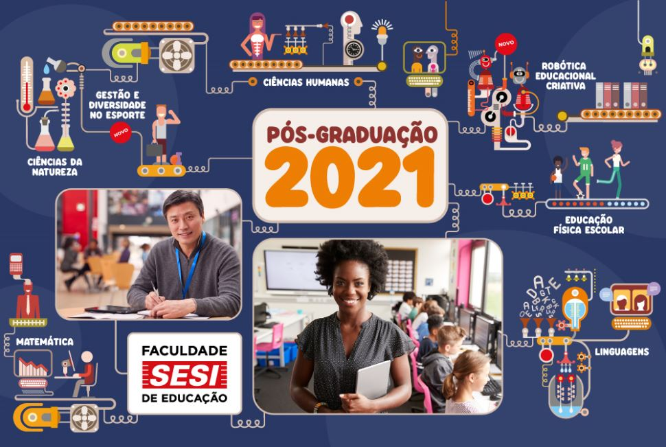 Faculdade Sesi de Educação antecipa-se às exigências da BNCC e lança pós-graduação por área do conhecimento